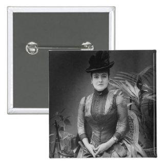 Adelina Patti, 1880 Pinback Button