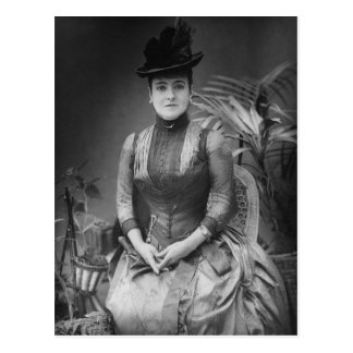 Adelina Patti, 1880 Postcard