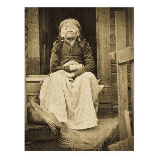 Adeline Princess of Seattle Washington 1896 Postcard