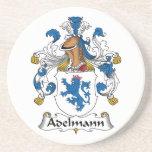 Adelmann Famiy Crest Drink Coaster