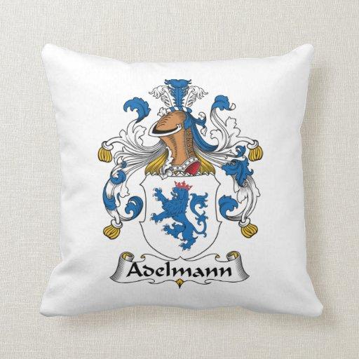 Adelmann Famiy Crest Pillows