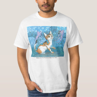 Adelyne Cat and the Fairies T-Shirt