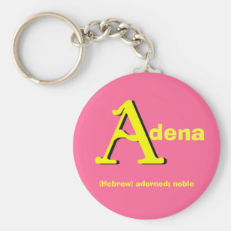 Adena Keychain