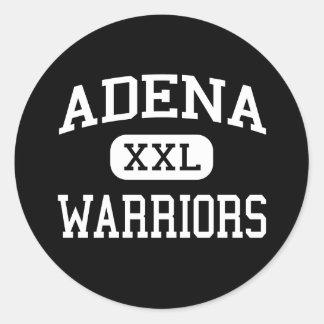 Adena - Warriors - High School - Frankfort Ohio Classic Round Sticker