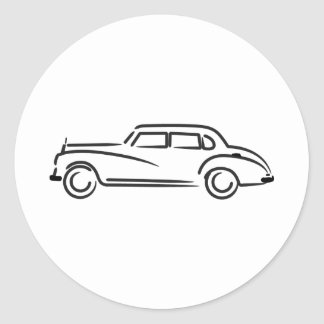 Adenauer Classic Round Sticker