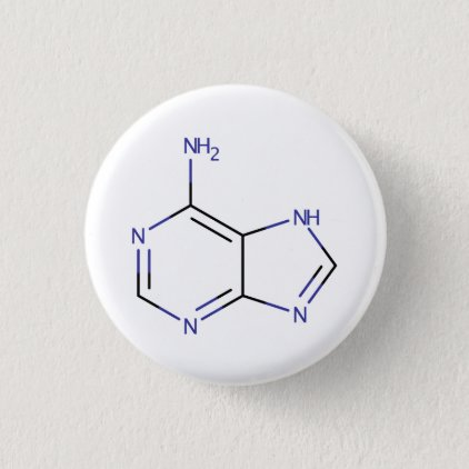 Adenine Molecule Button