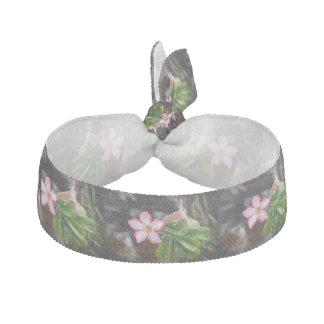 Adenium Desert Rose Flower Ribbon Hair Tie