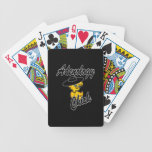 Adenology Chick #4 Playing Cards