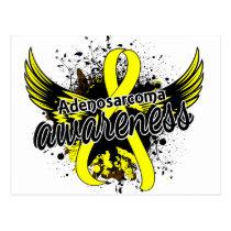 Adenosarcoma Awareness 16 Postcard