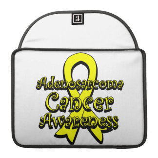 Adenosarcoma Cancer Awareness Ribbon Sleeve For MacBook Pro