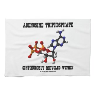 Adenosine Triphosphate Continuously Recycled (ATP) Kitchen Towel