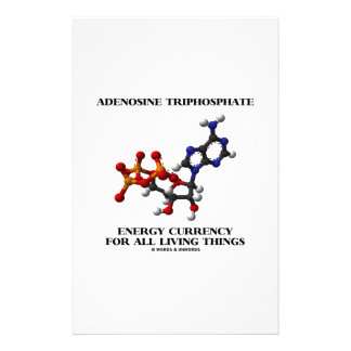 Adenosine Triphosphate Energy Currency For All Stationery