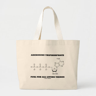Adenosine Triphosphate Fuel For All Living Things Canvas Bag