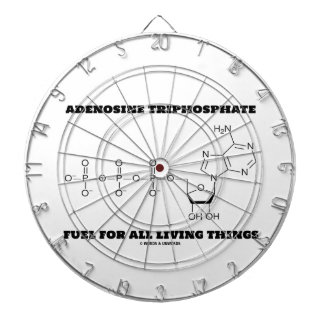 Adenosine Triphosphate Fuel For All Living Things Dartboards