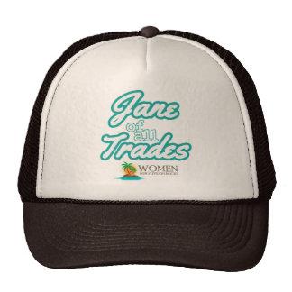 Adept Island Woman's Cap (brown) Trucker Hat