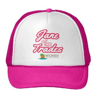 Adept Island Woman's Cap (pink) Trucker Hat