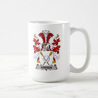 Aderen Family Crest Classic White Coffee Mug