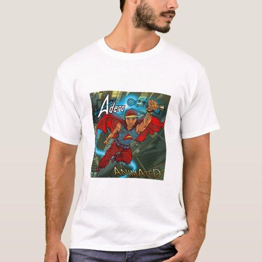 Adero - Animated White-T T-Shirt