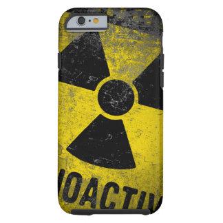 adesign de la radiactividad del grundge funda resistente iPhone 6