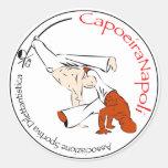 Adesivi CapoeiraNapoli de Foglio 6 Etiquetas