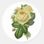 Adesivo Rosa Amarela