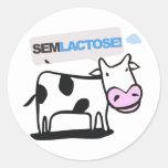 Adesivo Sem Lactose Round Sticker