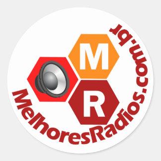 Adesivos do portal Melhores Rádios