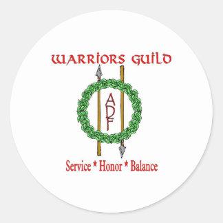 adf wg 2 round sticker