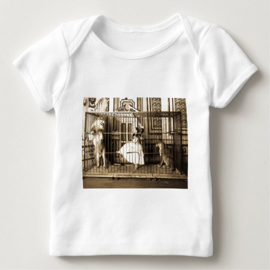 Adgie and Her Trained Lions1897 Baby T-Shirt