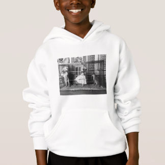 Adgie and Her Trained Lions1897 Hoodie