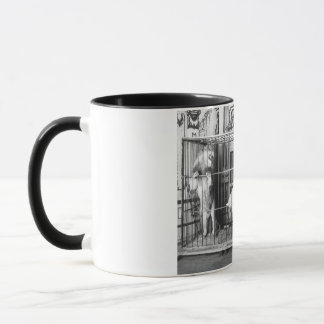 Adgie and Her Trained Lions1897 Mug