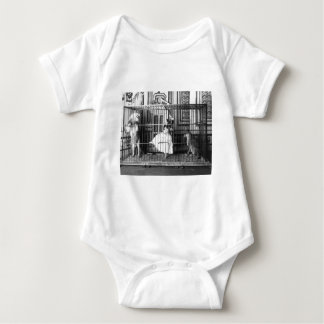 Adgie and Her Trained Lions Vintage Circus 1897 Baby Bodysuit