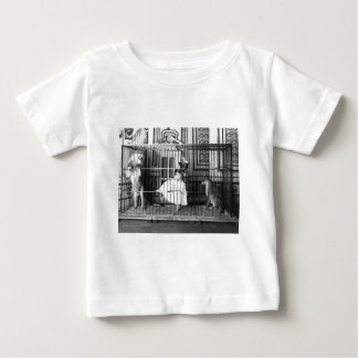 Adgie and Her Trained Lions Vintage Circus 1897 Baby T-Shirt