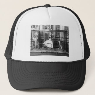 Adgie and Her Trained Lions Vintage Circus 1897 Trucker Hat
