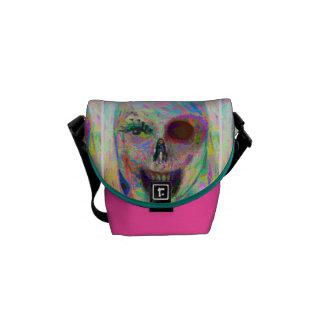 ADH Chalk Zombie Small Messenger Bag