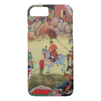 Adham Khan paying homage to Akbar at Sarangpur, Ce iPhone 8/7 Case