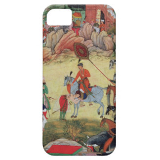 Adham Khan paying homage to Akbar at Sarangpur, Ce iPhone SE/5/5s Case