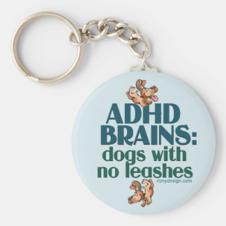 ADHD BRAINS KEYCHAINS
