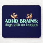 ADHD BRAINS MOUSEPADS