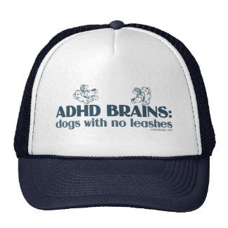 ADHD BRAINS TRUCKER HAT