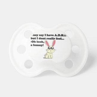 ADHD bunny Pacifier