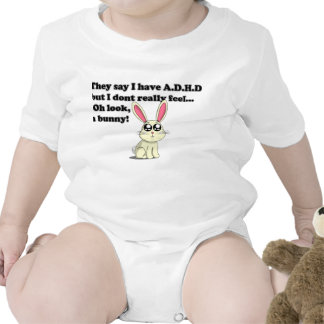 ADHD bunny Bodysuit