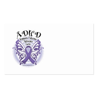 ADHD Butterfly 3 Business Card