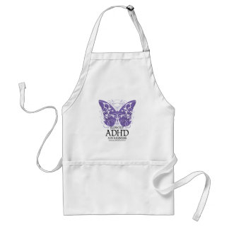 ADHD Butterfly Adult Apron