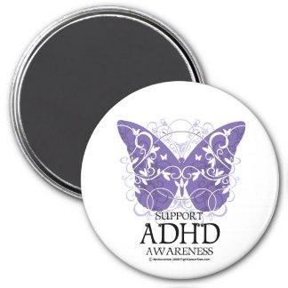 ADHD Butterfly Fridge Magnet