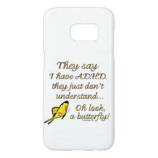 ADHD Butterfly Samsung Galaxy S7 Case