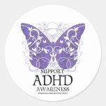 ADHD Butterfly Sticker