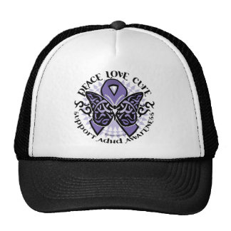 ADHD Butterfly Tribal 2 Hats