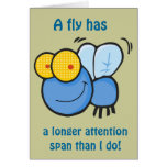 ADHD Card-Flies Have Longer Attention Spans