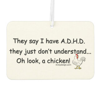 ADHD Chicken Humor